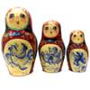 Bluebirds Russian Matryoshka Doll