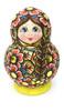 Sergiev Posad Artistic Carved Matryoshka Doll