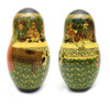 Tsar Saltan Bilibin Artistic Matryoshka   2nd Doll Front and Back