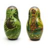 Tsar Saltan Bilibin Artistic Matryoshka  4th Doll Front and Back