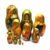 Russian Orthodox Icons (Русские православные иконы) Matryoshka Doll
