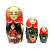 Nutcracker Matryoshka Doll Last Three