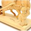 A Little Man with a Marigold Мужичок с ноготок Bogorodsk Carving