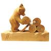 Logrolling Bear Bogorodsk Toy