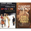 Pnin and King, Queen, Knave - Front Covers
