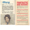 Mary and Pale Fire - Back Covers