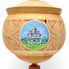 """""""Golden Ring"""" Khotkovo Carved and Painted Box"""