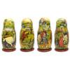 1st Doll all sides - Konyok Gorbunok (Конёк Горбунок) Art Matryoshka