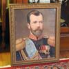 Tsar Nicholas II Portrait Large Lithograph