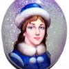 The Snowmaiden Brooch