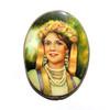 Ukrainian Girl Brooch