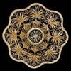 """""""Snowstorm"""" Basket [24Kt Gold Plate]"""