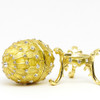 "Mini Romanov Gold Egg Box  [2½""]"