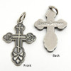 Russian Orthodox Baptism Cross (Pewter)