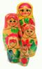 Vyatka Matryoshka Doll  5pc