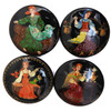 Industrious Woman 4 Miniature Painted Pins