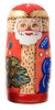 Santa Matryoshka Doll from Russia