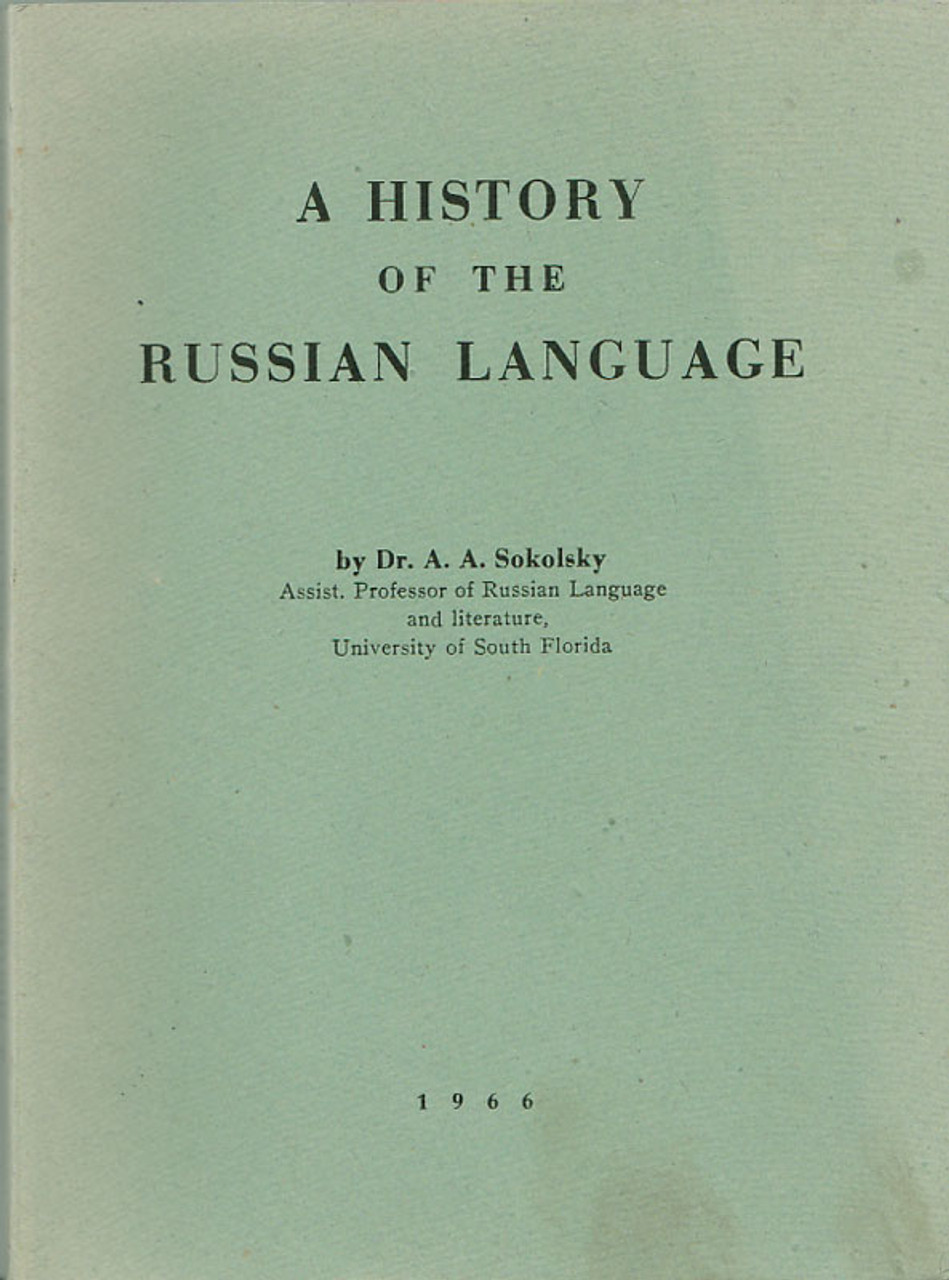 History of the Russian Language