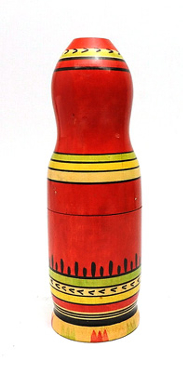 Mordva (Мордовия) Matryoshka Small Bottle Holder.