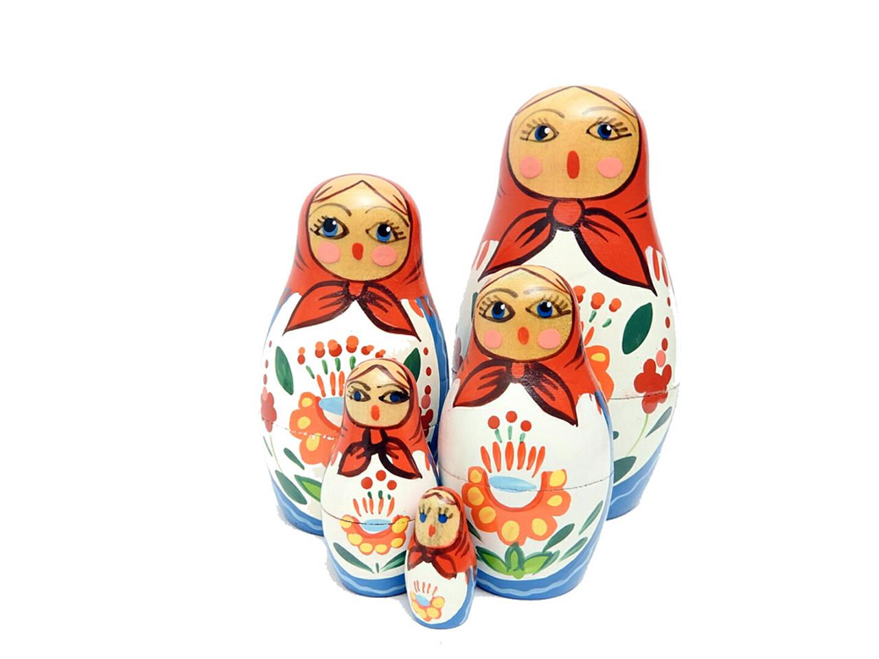Brest Shawl Maiden Matryoshka Doll