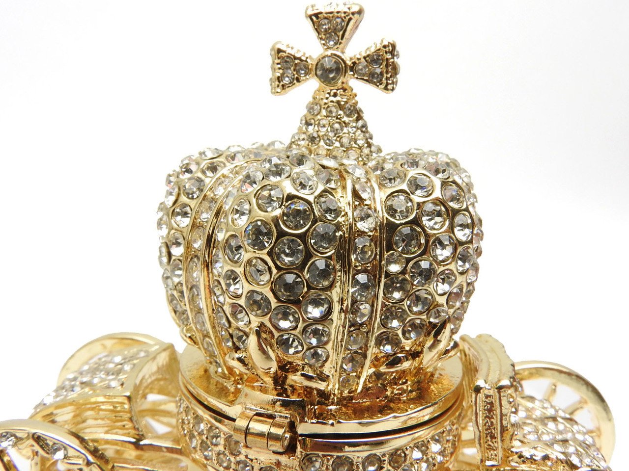 Brilliant Crystal Coronation Carriage