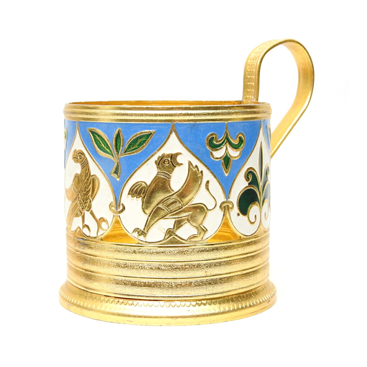 """Mythical Creatures"" Tea Glass Holder"