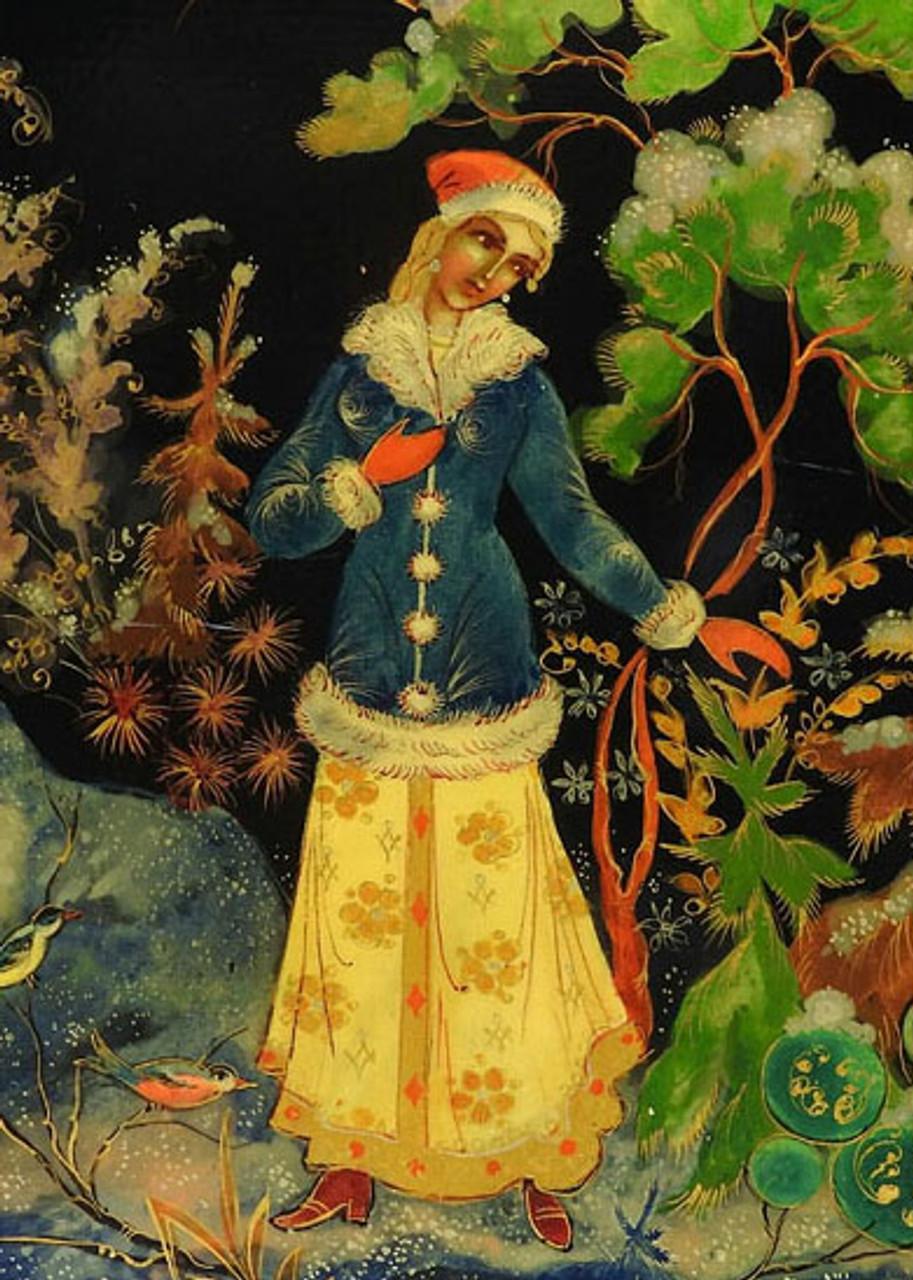 The Snow Maiden (Palekh 1961)