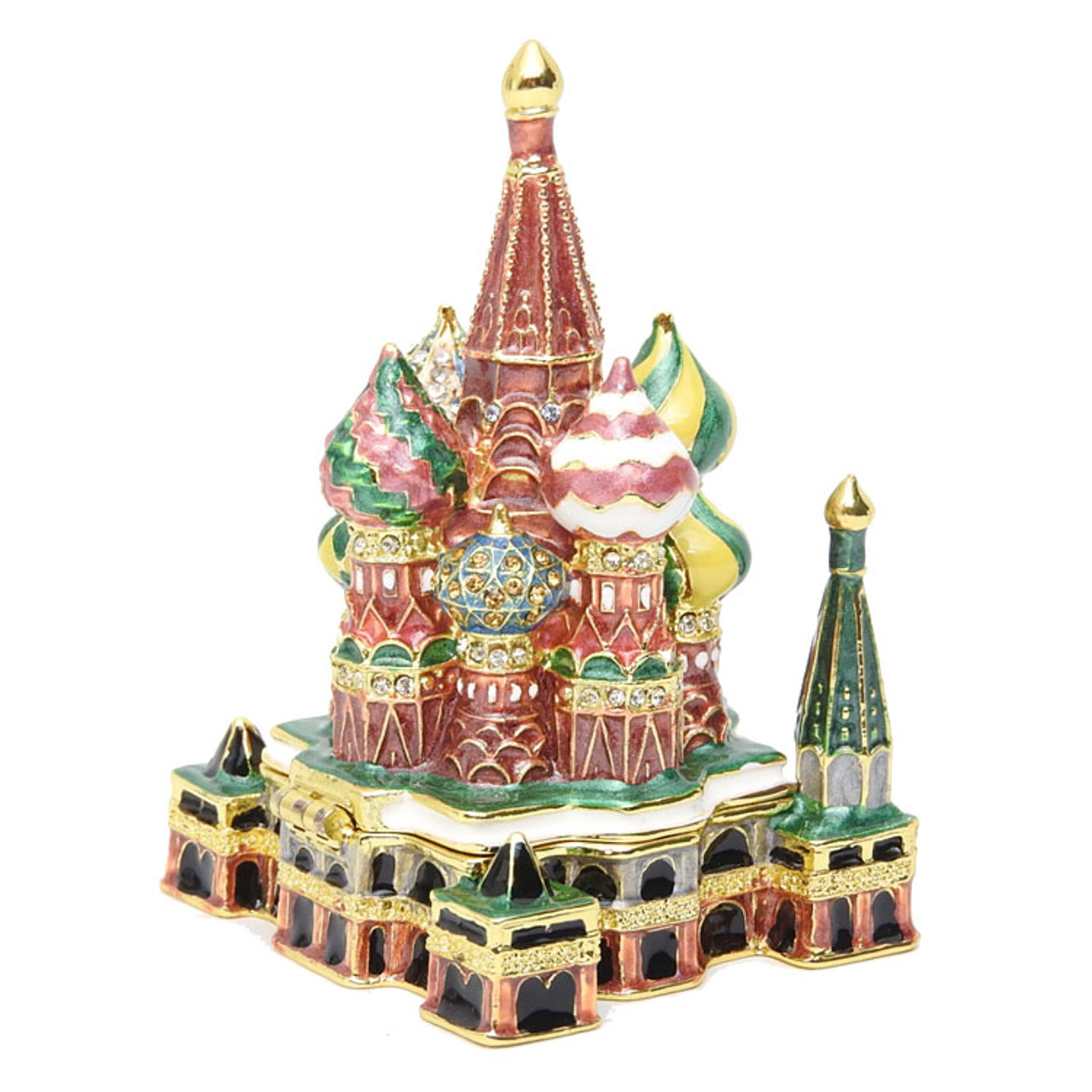 St. Basil's Cathedral Enamel Box