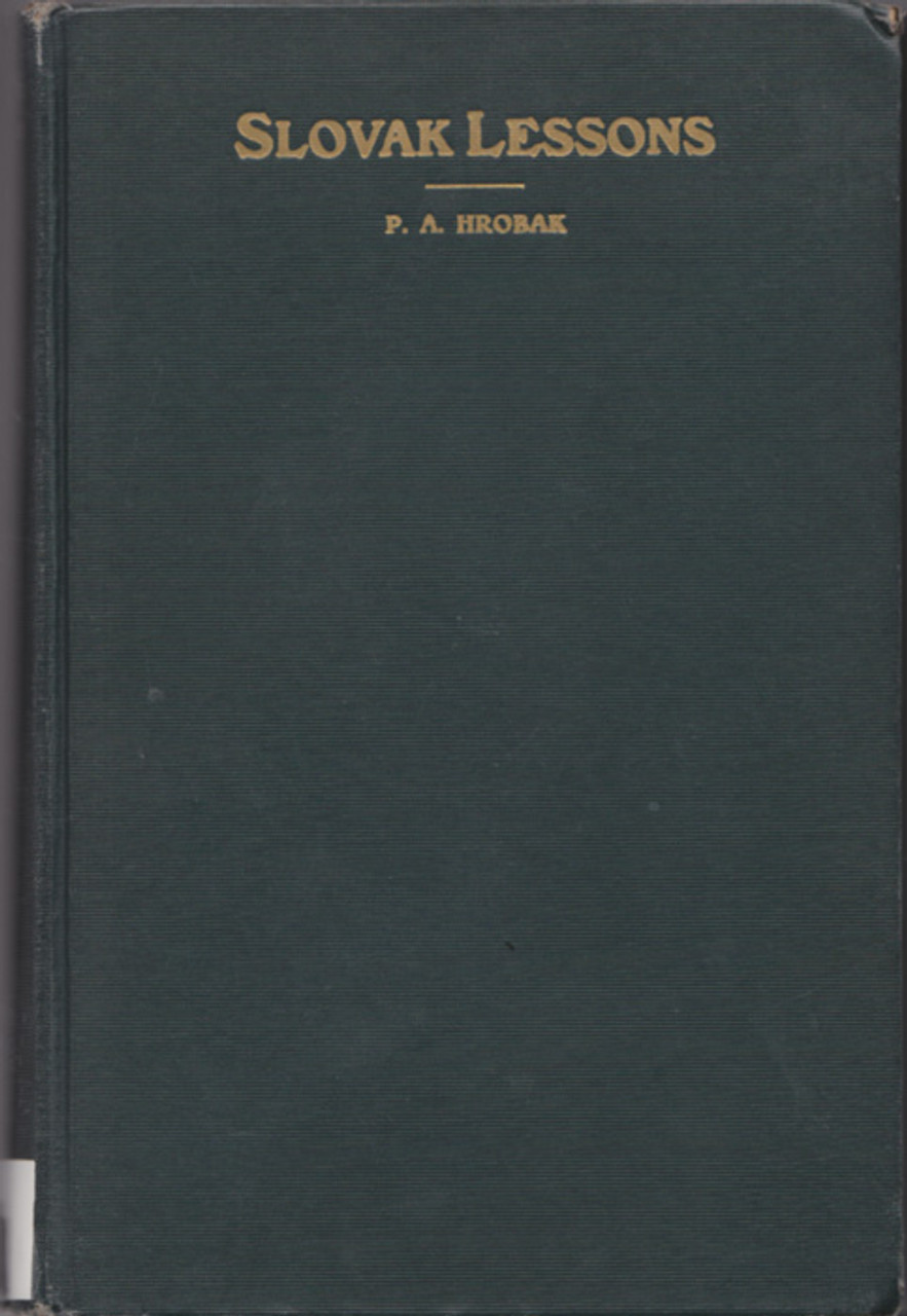 Slovak Lessons [1935]