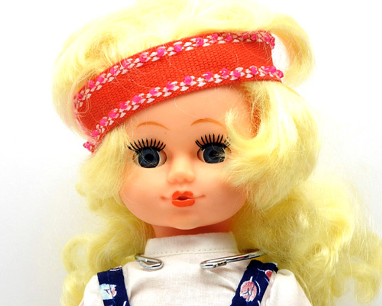 Blonde Maiden Minstrel Doll