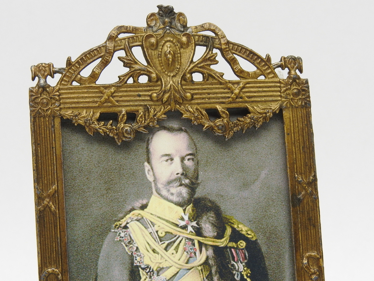 Brass frame made in France