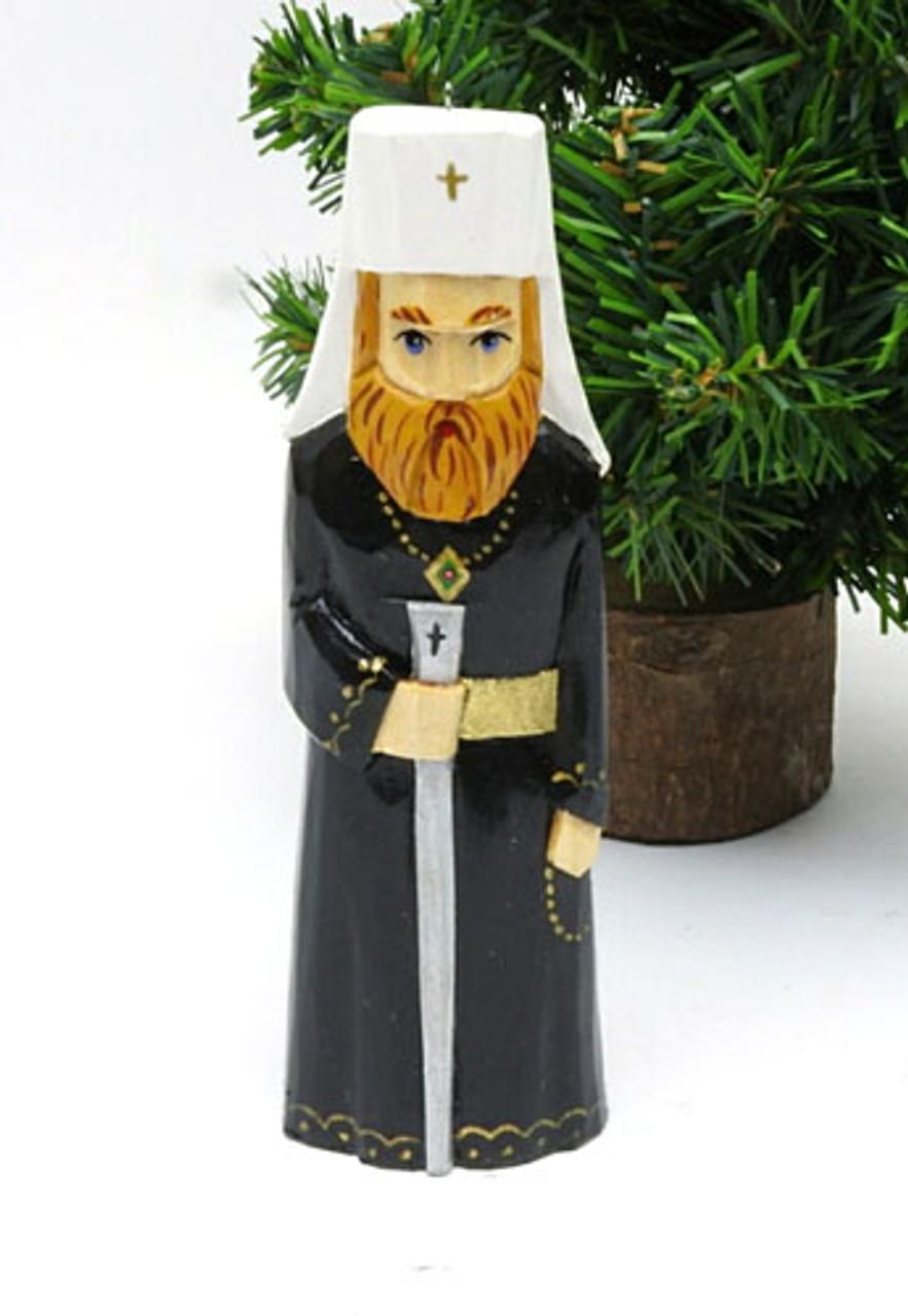 Orthodox Bishop Hand Made Ornament