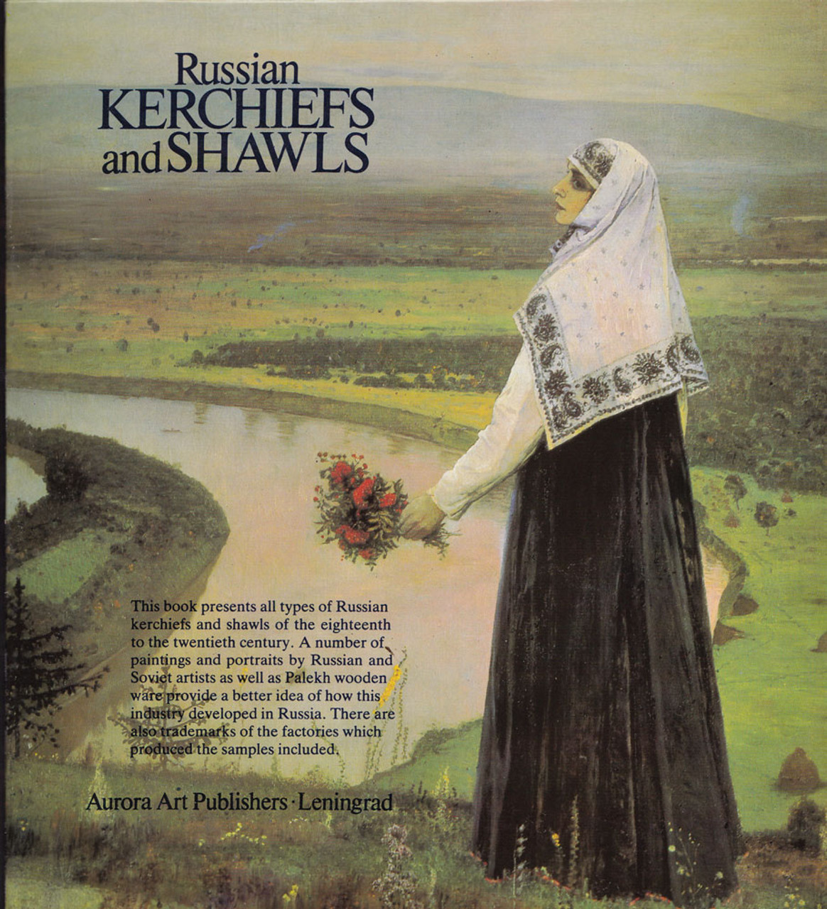 Russian Kerchiefs and Shawls - back cover