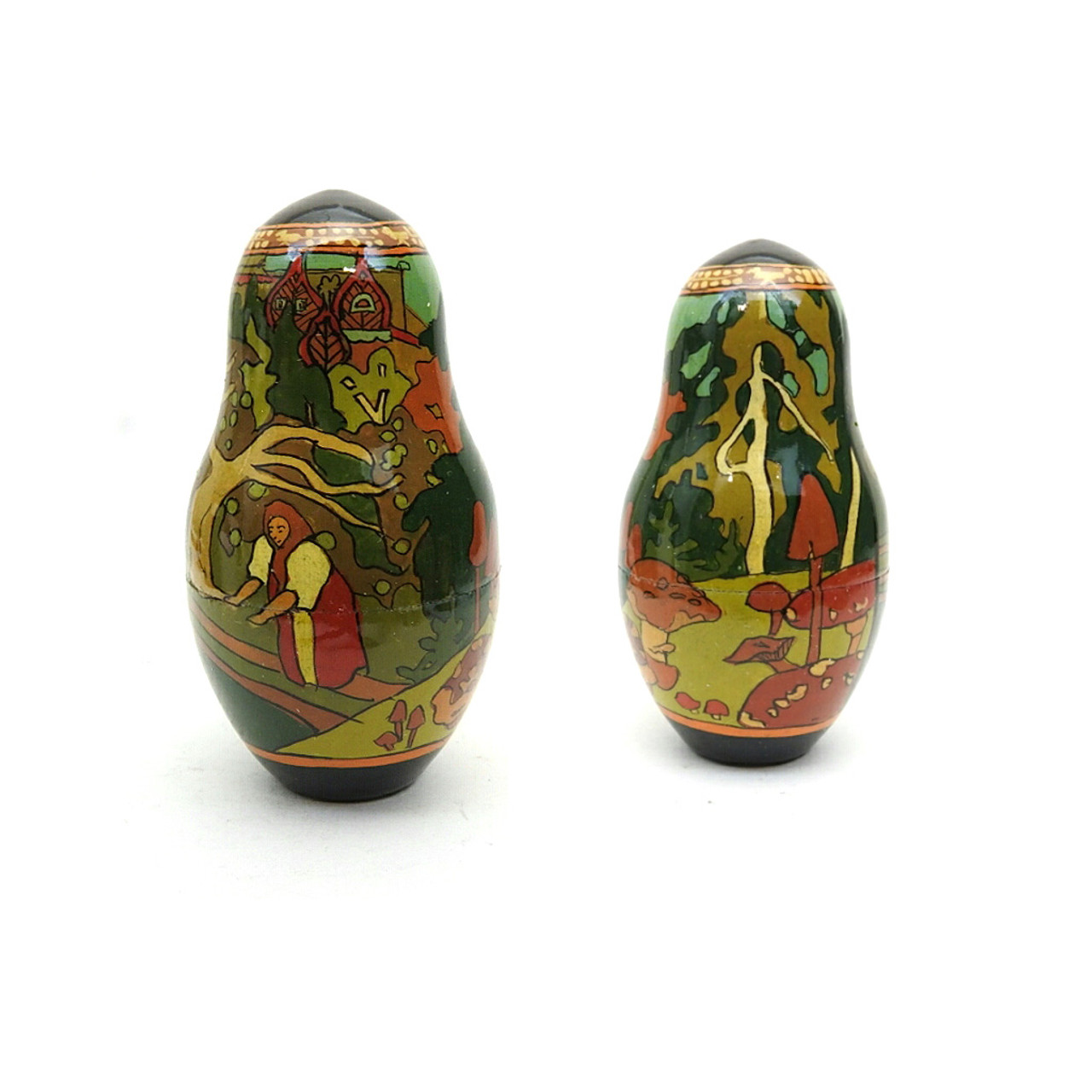 Tsar Saltan Bilibin Artistic Matryoshka  7th Doll Front and Back
