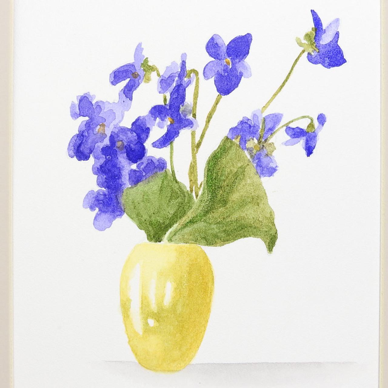 Watercolor by Grand Duchess Olga