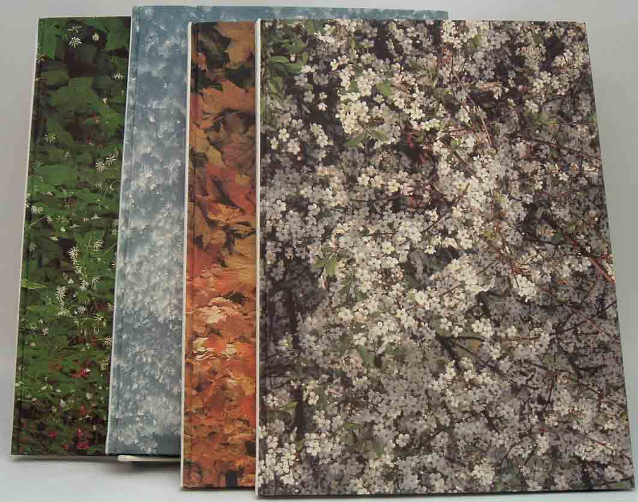 Cloth bindings of different colors