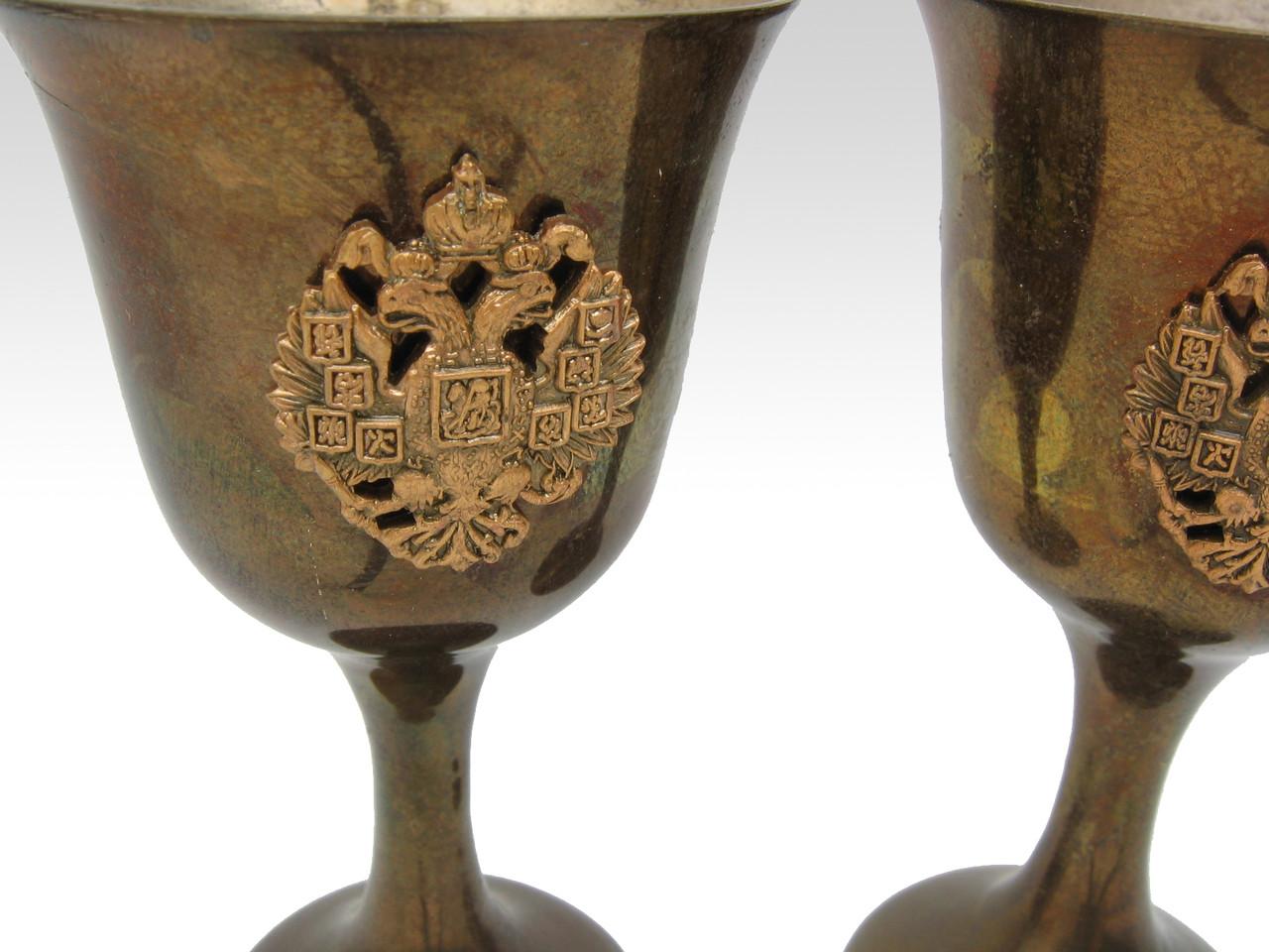 Russian Eagle Shotglasses