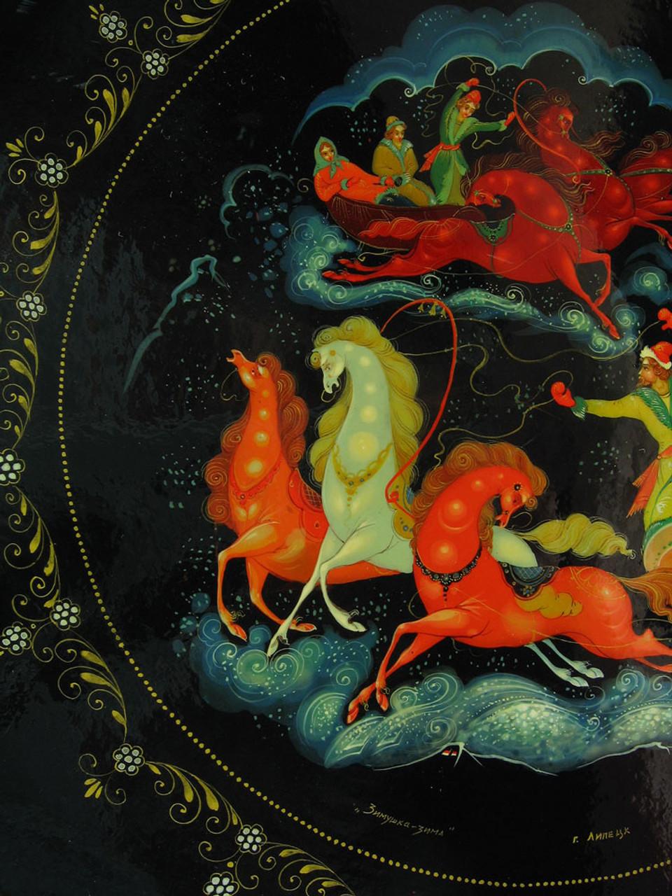 Detail of horses
