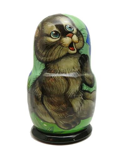 Playful Kittens Matryoshka Doll