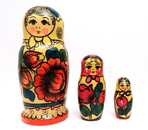 Polkhovsky Maidan Matryoshka Fancy 3-pc