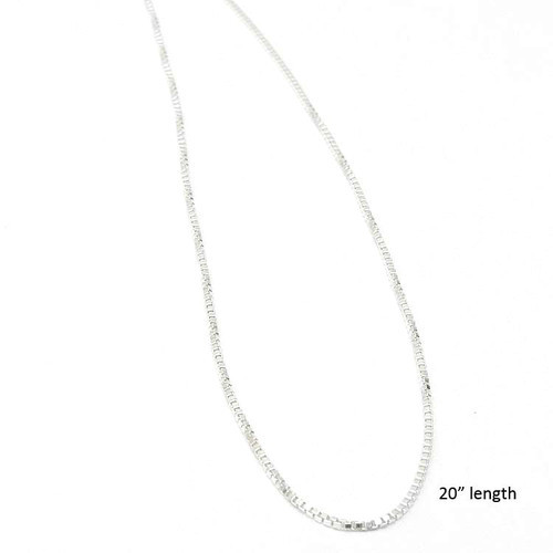 Sterling Silver 20 inch Chain