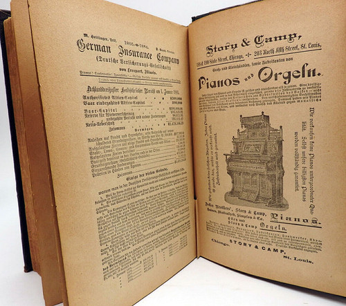 "Dr. Stout's Home Medical Book ""Our Family Physician"" 1883 [in German]"