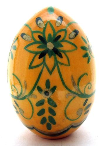 Easter Egg Girl with Cockerel (Девушка с Петушком) back view