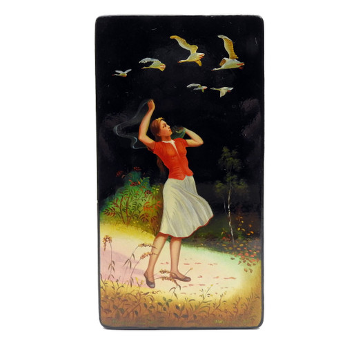 The Geese Are Flying Lacquer Box