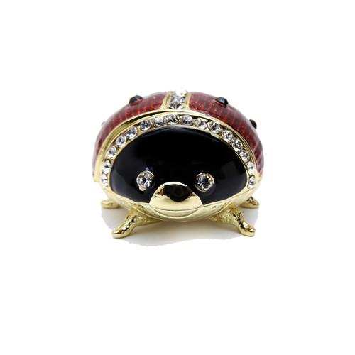 Ladybug Enamel Box