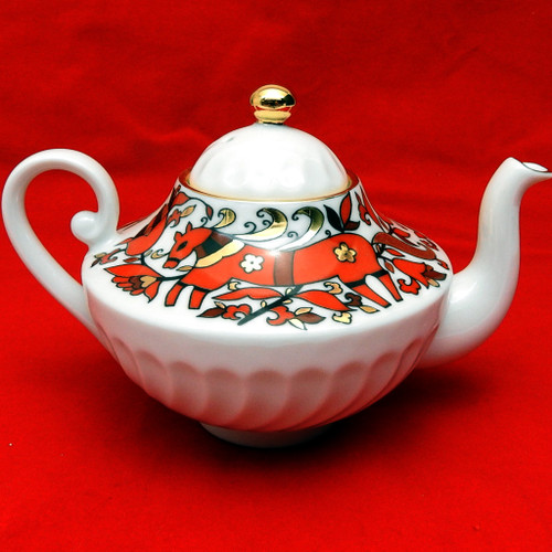 Folk Ornaments Small Teapot