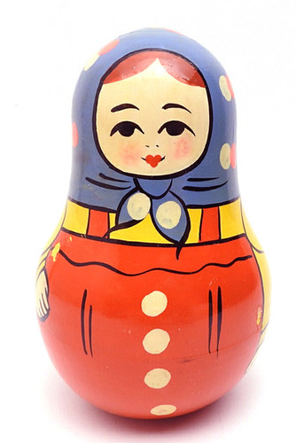 Zagorsk Roly Poly Chime Doll