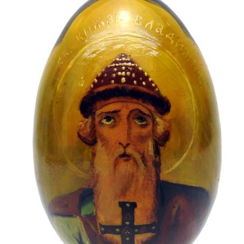 Prince Vladimir Easter Icon Egg