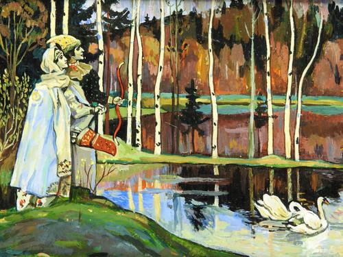 Dual Harmony [Nesterov] Russian Masterpiece Painting