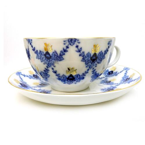Evening Time Tea Cup and Saucer